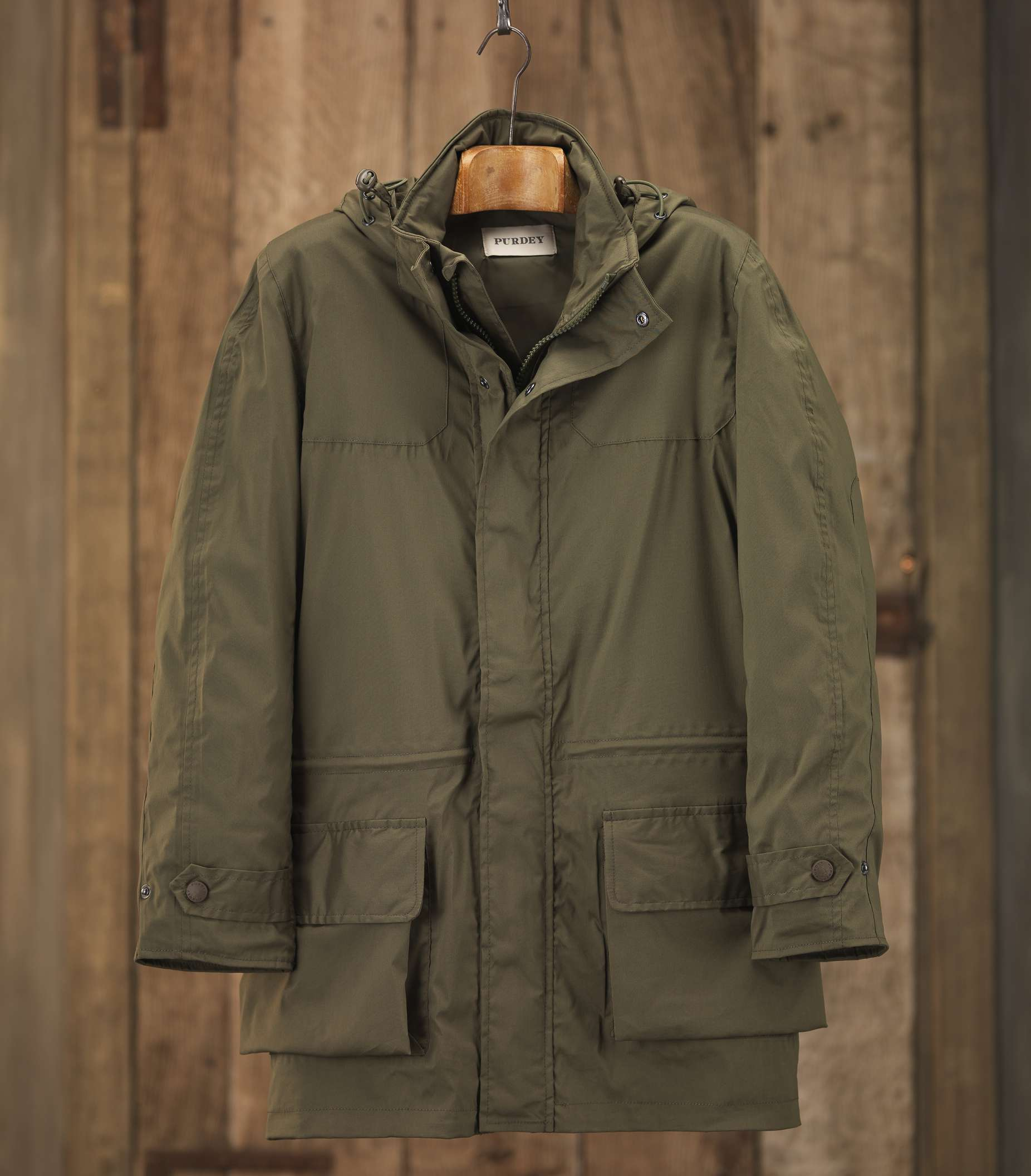 purdey action back jacket