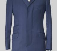 Cavalry Twill Petrol Blue Coat
