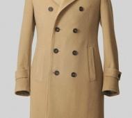 Camel Cashmere D.B Overcoat